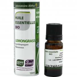 Aceite esencial de lemongrass BIO 10ml Laboratoire Altho