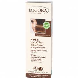 Logona Crema Colorante Castaño NOGAL 150ml