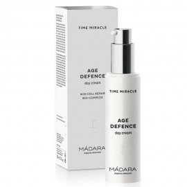 Mádara Time Miracle  Crema de día Antiarrugas Age Defence 50ml.