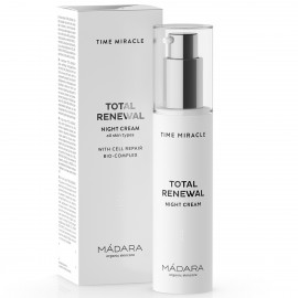 Mádara Time Miracle Crema de Noche Total Renewal 50ml.
