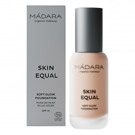 Maquillaje Base Skin Equal de Madara SPF 15,  30ml - Rose Ivory #30