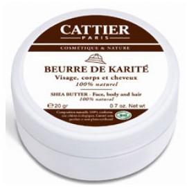Cattier Manteca de Karité 100% Pura 100g